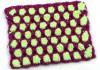 Двухцветный узор крючком