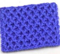 Рельефный сетчатый узор