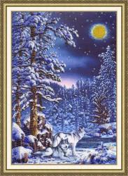 Зимние узоры для вышивания бисером